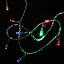 10M 100 LED Holiday Christmas lights decoration waterproof Outdoor Lamp Decor String Light for New year Xmas Wedding Party EU