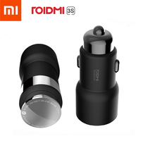 Car Kit Xiaomi ROIDMI 3S Bluetooth Car 5V 3.4A Car Charger Hand Free FM Music Player Phone APP For Smart Control MP3 Player