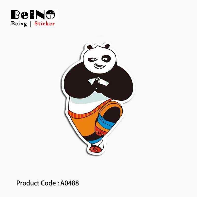 Наклейка с пандой милый животных жирных Водонепроницаемый чемодан Коробки ноутбук гитары Чемодан скейтборд велосипед игрушка прекрасный A0021 Стикеры s
