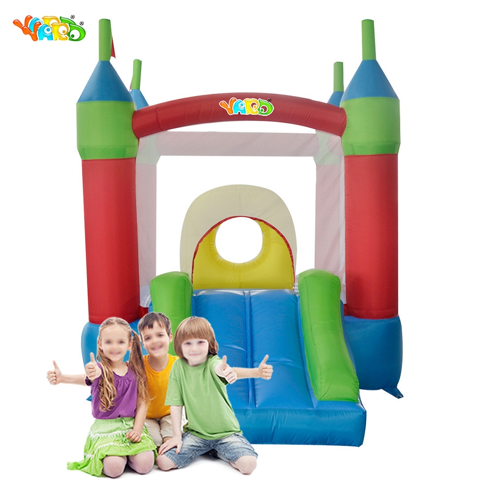 YARD Free Shipping Inflatable Bouncer Funny Bouncy Obstacle Castle Happy Jumping Bouncer For Kids Exercise yard free shipping bouncy dream castle inflatable jumper bouncer 6 in 1 all round obstacle combo for home use