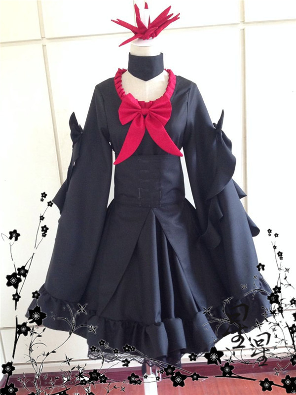 Pocket Monster Pokemon Darkrai Cosplay costume Anime custom any size