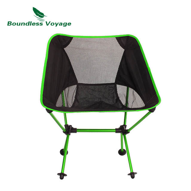 Boundless Voyage Outdoor Portable Folding Fishing Chair