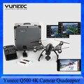 EM Estoque!!! Yuneec Q500 4 K Quadcopter Cardan Handheld Steady Grip com caixa De Alumínio + Bateria Extra PK fantasma 3