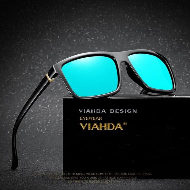 25a8c875f8 Viahda 2018 nuevo tr90 polarizadas Gafas de sol hombres moda masculina gafas  Sol Gafas viajes gafas