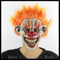 Новинка 2017 года партия маска театр масок Оптовая Латекс страшный Клоун Маска Payday Хэллоуин Джокер маска для партии Тушь для ресниц карнавал ...
