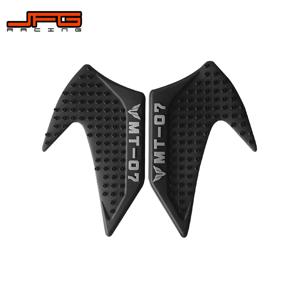Home Earnest Motorcycle Tank Traction Pad Side Gas Knee Grip Protector Decal For Yamaha Mt07 Mt-07 Mt 07 2015 2016 15 16 Spare No Cost At Any Cost