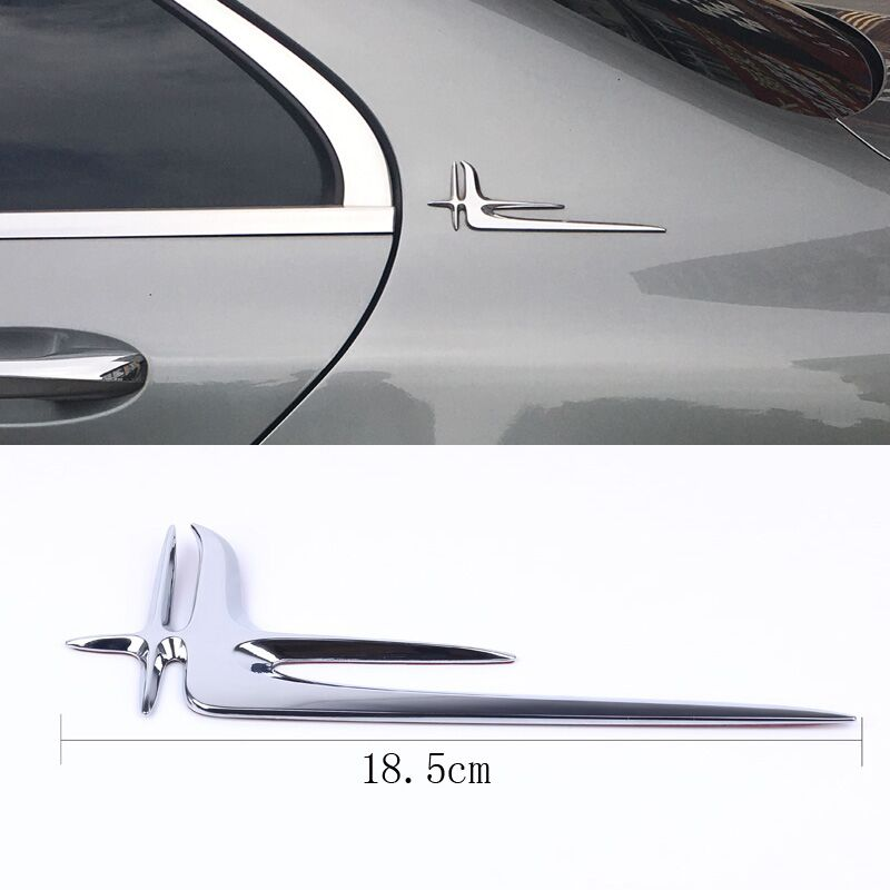 3D Chrome Silver Tail Trunk letter Emblem Badge Sticker Decoration For Mercedes W211 W203 W204 W210 W205 W212 W220 AMG Styling 1pair car styling led crystal water lamp drl daytime running lights for mercedes benz w211 w203 w204 w210 w205 w212 w220 amg