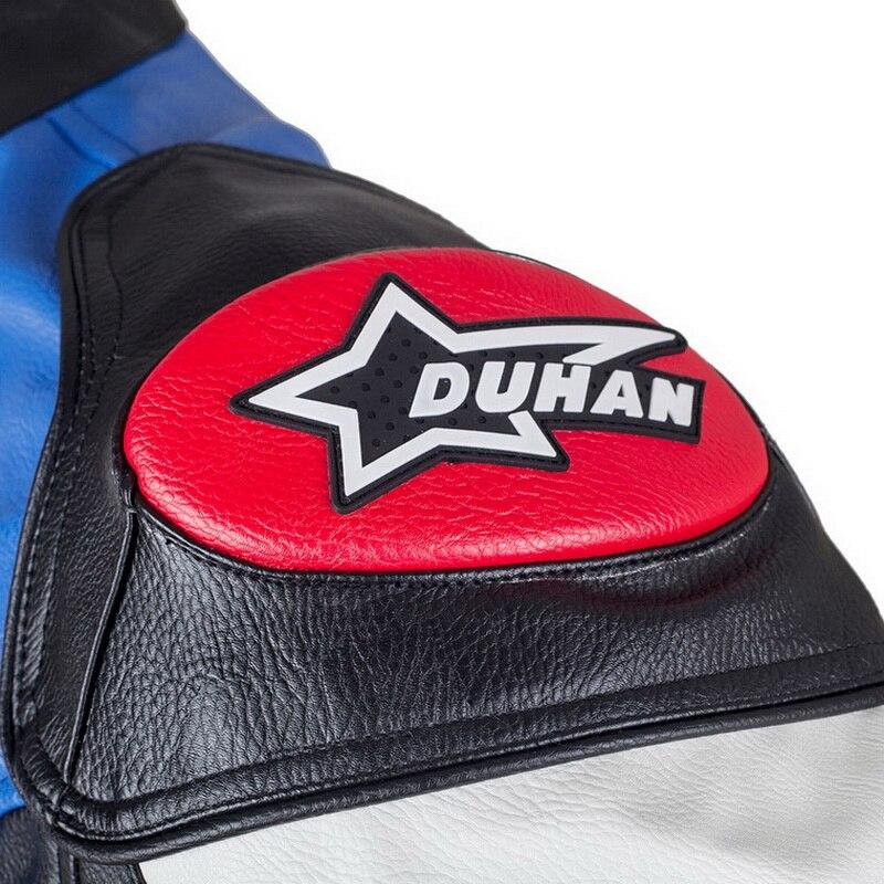 Offre spéciale DUHAN moto rcycle vêtements moto racing costumes REPSOL PU cuir hommes moto rbike veste vêtements printemps manteau - 6