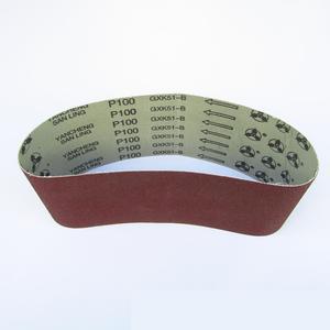 """Image 3 - 10 Stks 100*610mm Schuren Riem 4 """"* 24"""" schurende Band 100*610mm Aluminium Oxide Voor Hout (Grit 36 40 60 80 100 120 180 240 320 400)"""