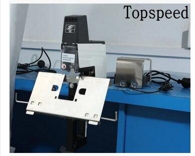 Electric saddle stapler Flat stapler paper binding machine 110V or 220V все цены