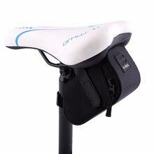 2016 B-SOUL Waterproof Mountain Road Bicycle Tail Bag Saddle Bag Bike Pouch Cycling Seat Bag Black free shipping цена