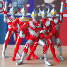 18-25cm Ultraman Taro Doll Superman Monster Suit Combination Joint Movable Luminescent Sound Toys for Children anime figure