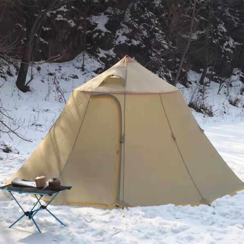 Asta gear Горный Дом Сверхлегкий 2-6 человек Пирамида открытый тент командная база палатка коллективный тент Кемпинг большая палатка