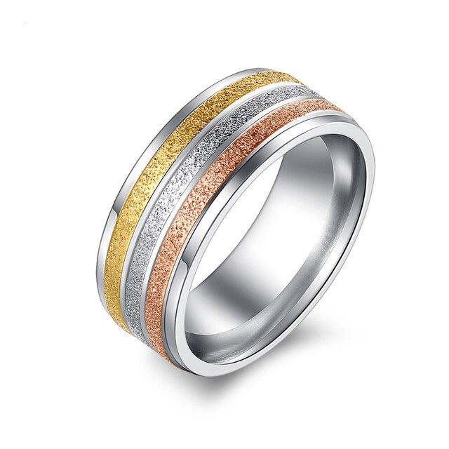 Женские кольца из нержавеющей стали dotifi полированные 316l