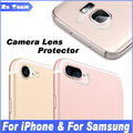 Camera Lens Tempered Glass Film For iPhone 7 6 6S Plus Samsung Galaxy Note 7 5 S7 S6 Edge Plus Protective Protector Guard Cover