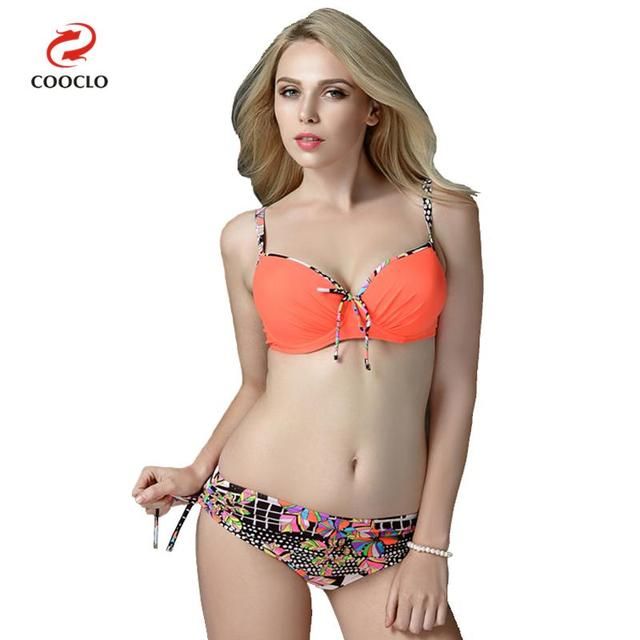 fe6202d50af0c Special Offers COOCLO 2018 Plus Size Bikinis Set Sexy Women Swimwear  Beachwear Bathing Suits Swimming Suit