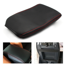 цена на for Audi A4 2009 2010 2011 2012 2013 2014 2015 2016 Center Console Armrest Box Cover microfiber leather Protection Pad