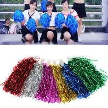 Игровые помпоны дешевые практичные болельщики помпоны применяются к спортивному матчу и Вокальному концерту цвет может комбинация