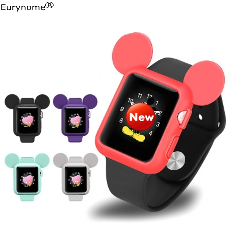 For Apple Watch Series 1 2 3 Bumper Soft Silicone