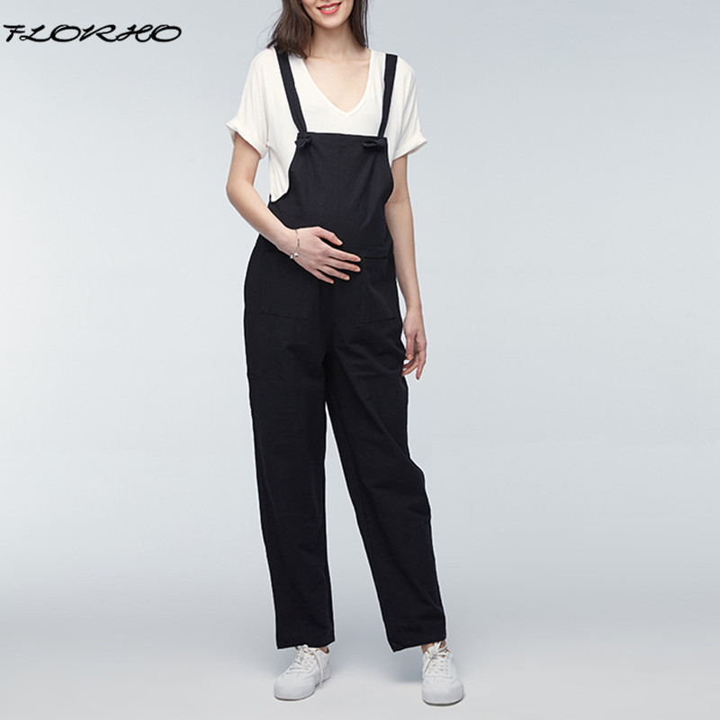 Plus Size Maternity Pants 2018 Pregnant Rompers Womens Jumpsuit Casual Loose Pregnancy Overalls Playsuits Trousers Bottoms 5XL