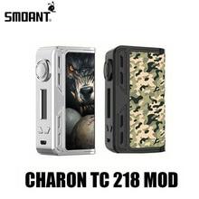 Electronic Cigarette Mods Vape Box Mod Smoant Charon TC 218 Mod E Hookah Vaporizer Mech Mod E Cigarette VS Fuchai 213 X2075
