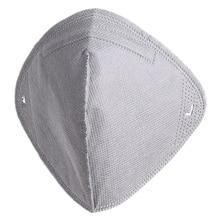 Пыле PM2.5 для верховой езды маски лайнер Половина маска фильтр Замена активированный уголь для активного отдыха анти загрязнения маска