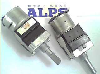 ALPS motor potentiometer B100k \u0026 times; 4 illuminated (25mm axle ) israel pe30p 4 7k 10k [1m axle] potentiometer