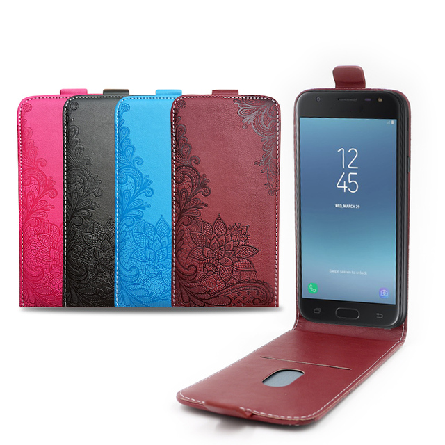 3D Stereo Embossing lace flower flip leather phone case TPU coque for Samsung Galaxy S3 S III mini GT-I8190 I8190