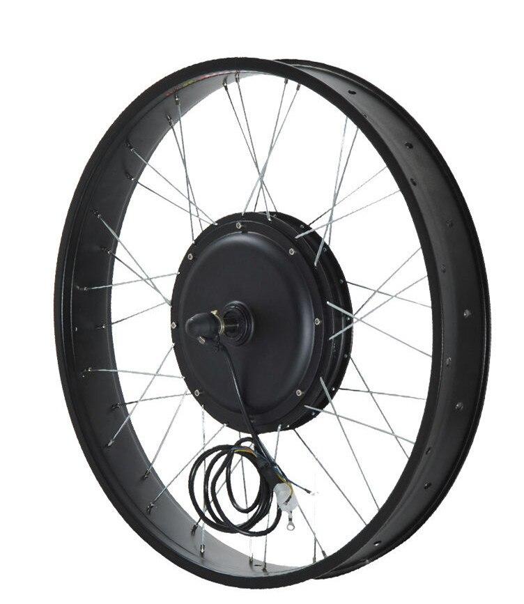 Ce Approved 26 X 4 0 Fat Bike Kit 48v 1000w Electric Fat Bike