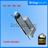 Stroke 2 Inch(50mm) Mini Linear Actuator 12V 48v,50 900N,5 40mm/s Tubular Motor,Stroke Adjustable For Window Actuator,Auto parts