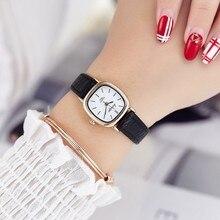 Hot sale top women quartz-watch leather ladies Analog small