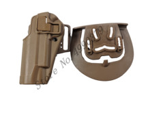 CQC Military Tactical Airsoft Hunting Gun Holster Left Hand Belt w/ Paddle fits Colt 1911