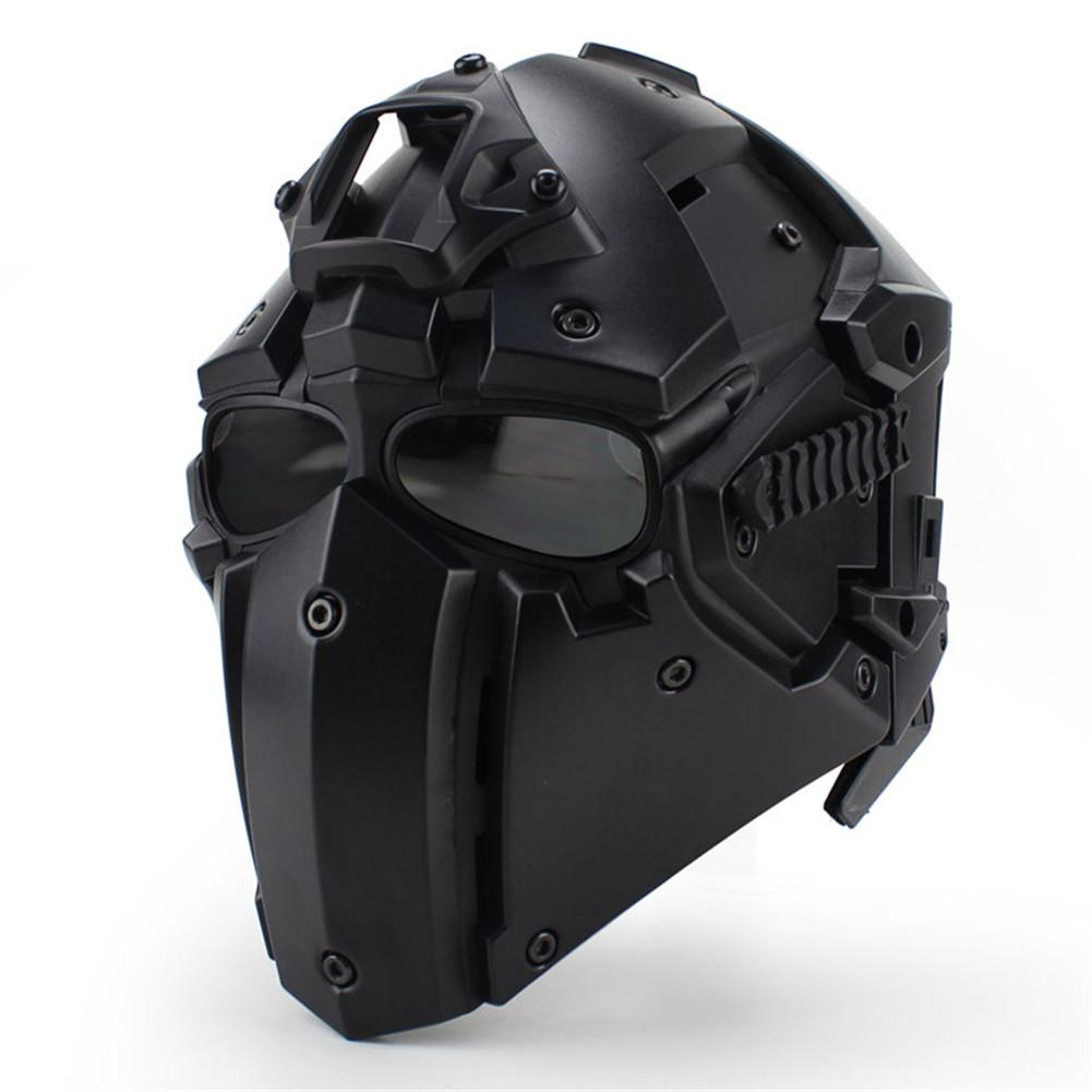 Outdoor Riding Helmet CS Game Helmet Full Facemask WoSport Helmet Full Mask маска neff mountain facemask psychosafari