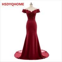 HSDYQHOME Mermaid Bridesmaid Dresses Floor Length Custom Made Long Party Dress Cheap Bridesmaid Gowns Vestido De Festa Longo