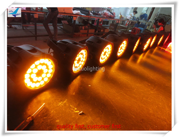 A font b LED b font Par Waterproof IP65 Outdoor 24x15w RGBWA 5in1 Wash Stage light