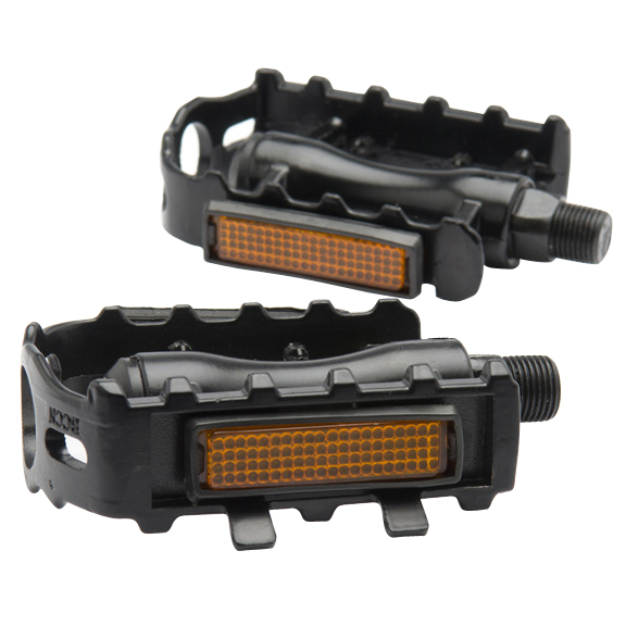 1 Pair Bicycle Pedal MTB Aluminium Alloy Mountain Bike Bicycle Cycling 9/16 Pedals Flat-black bike Pedal Bicycle Parts new fsaeaston carbon fiber bicycle parts about a pair of pedal