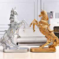 The New Flying Horse Home Decor Resin Decoration Crafts Living Room Animal Ornaments Decorations Wedding Gift 37*27*10cm