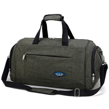 Arm Green Waterproof Nylon Travel Handbag Men Crossbody Weekend Bags Red Vintage casual Duffel Shoulder Large Overnight Bag