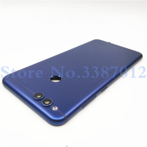 Image 4 - สำหรับ Huawei Honor 7X อะไหล่ฝาหลังแบตเตอรี่ + ปุ่มด้านข้าง + กล้องแฟลชเลนส์เปลี่ยนฟรีการจัดส่ง