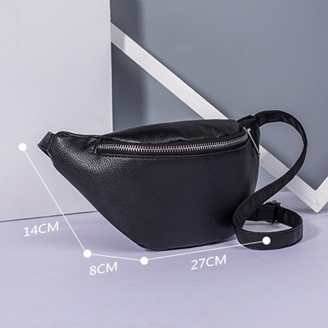 REPRCLA PU Leather Belt Bag 3