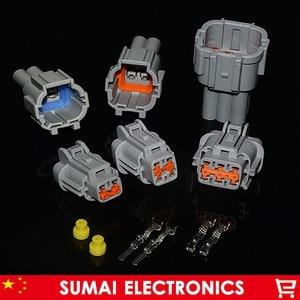 Image 1 - 2/4/6/8 פינים 2.2mm זכר ונקבה רכב פנס תקע מחבר עבור ניסן, טויוטה וכו . עבור Sumitomo