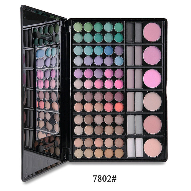 180Color/set Large Combination Package Eye Shadow Box