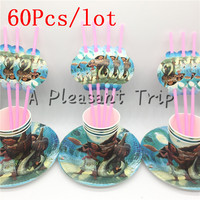 60pcs Lot Moana Cartoon Baby Shower Decoration Birthday Party Straws Moana Theme Paper Cups Kids Favors