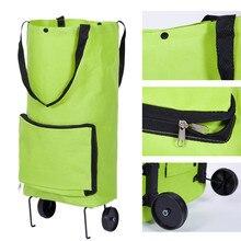 Складная Многофункциональная Сумка-тележка для шоппинга, буксир, чехол на колесиках, многоразовые, Fess