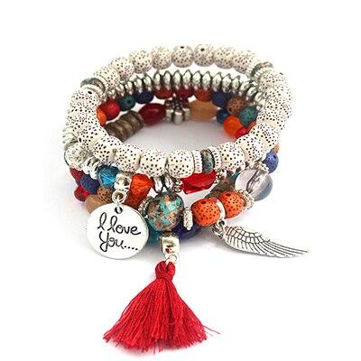 Bodhi Bracelet Color Beaded...