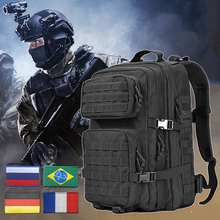 Tactical Military Backpack Men Waterproof Bagpack Molle 3P Army Assault Attack Camping Hiking Hunting Camping Mountaineering Bag цена