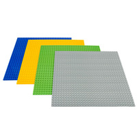 LELE Large Blocks Base Plate Technic 48 48 Dots DIY Baseplate 4 Colors Compatible Legoe Building