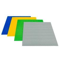 LELE Large Blocks Base Plate Technic 48 48 Dots DIY Baseplate 4 Colors Compatible Legoe Building