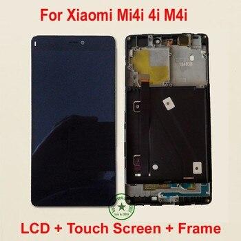 Di ALTA Qualità Originale Display LCD Touch Screen Digitizer Assembly con telaio Per Xiao mi mi 4i mi 4i M4i m4i sensore del telefono Parti