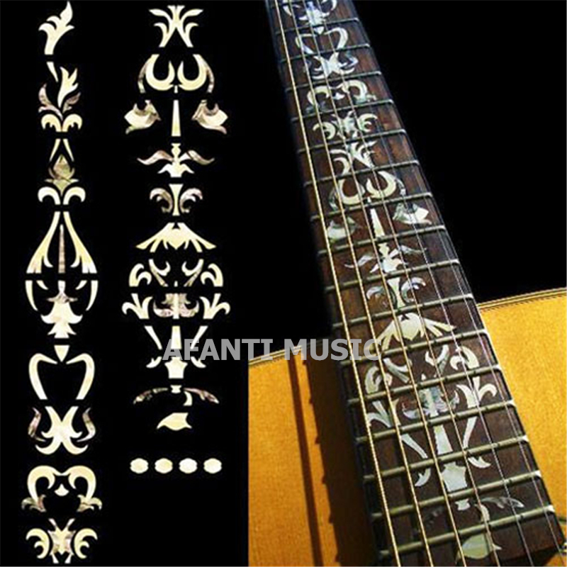 Afanti music Guitar Finger Board sticker / Shell sticker / Classic style Inlay (FPD-123) afanti music gib es335 style 4 strings bass guitar es335 b27